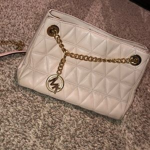 quilted Michael Kors bag